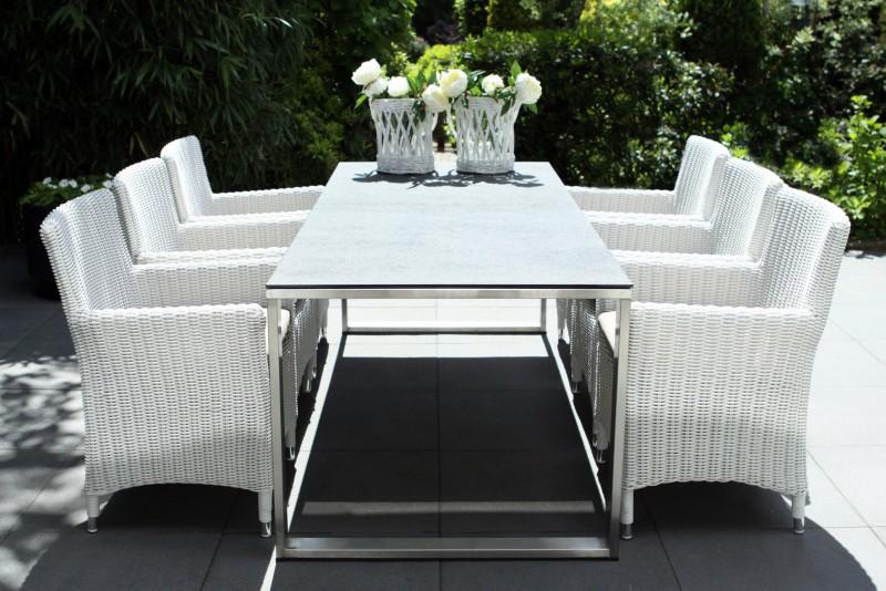 Dining Set Tuin : China modern italian design florentina clear glass top dining